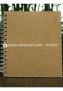 Artist Notebook White Spiral
