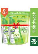 Dettol Handwash Aloe Vera Refill - 170ml - Combo (2 Pcs)