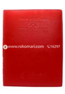 Redleaf Legal Diary (Red) - 2021 (For 1 Year)