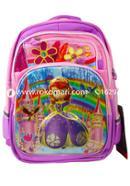 Max Cartoon School Bag (Violet Color) - M-2051