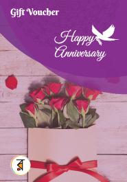 Anniversary Day Gift Voucher