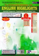 English Highlights -C Unit Business Studies (Important Suggestion, Supplement and 10 Set Model Test) For All University Admission Test