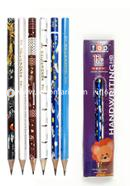 Top Fantasy Extra Dark HB Hand Writing Pencil - 10Pcs (Different Body Color)
