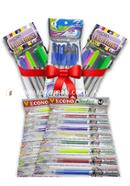 Pen Combo Package Half Yearly for Student - 01 (Econo Full Time Pen - 12 Pcs, Econo Student Pen - 20 Pcs, Econo Occean Pen - 5 Pcs)