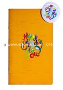 Happy Birthday Notebook - 80 leaves