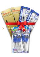 Pen Combo Package Yearly for Office (Econo Occen Pen - 10 Pcs, Econo Econo Soft grip - 20 Pcs, Econo officemate - 20 Pcs)