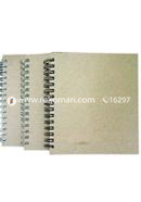 Artist Notebook White and Silver Spiral 2 Pack