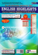 English Highlights -B and D Unit Manobik, Bivag Poriborton (Important Suggestion, Supplement and 5 Set Model Test) For All University Admission Test