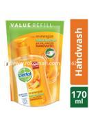 Dettol Handwash Re-energize Refill - 170ml