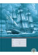 Pearl Binding Khata Old Ship Design (White) - 200 Pages