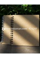 Artist Notebook Black and White Spiral 2 Pack