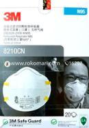 3M (N95): 8210CN, Respirator Mask-1 Pcs