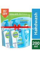 Dettol Handwash Cool Refill - 170ml - Combo (2 Pcs)