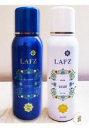Lafz Body Spray Combo Package - FAITH and DEVOTION For Women (Halal Certified -Alcohol Free)