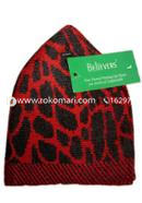 Believers'Muslim Prayer Cap Dry Leaf Design -01 Pcs (Lavender and Black Color)
