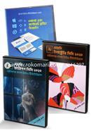 Graphics Design Tutorial Package: Photoshop CC, Adobe Illustrator CC, logo and Corporate Branding Design (9 DVDs)