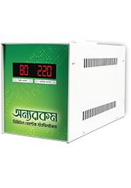OnnoRokom Digital Voltage Stabilizer (DVS - Up To 10.5 CFT)