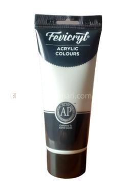 Fevicryl Acrylic Colours (TITANIUM WHITE) - 200 ml