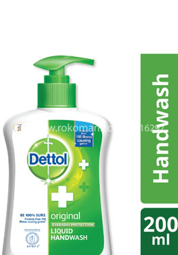 Dettol Handwash Original Bottle 200ml