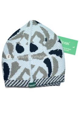 Believers'Muslim Prayer Cap Toor Design -01 Pcs (Levendor, Khaki and Black Color)