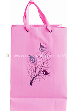 Hearts Smart Gift Bag Small - 01 Pcs (Magenta Color-Any Design)