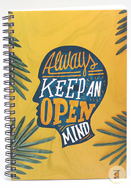 Always Keep Note Book Floral (JCNB08) - 01 Pcs