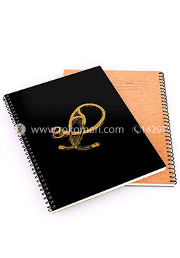 Khata Stethoscope 1 - Spiral Notebook [120 Pages] [Black