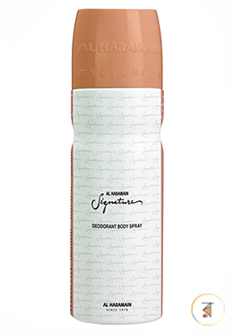Al Haramain Signature Rose Gold (Deodorant Body Spray) - 200ml for Women
