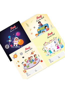 Fresh Kids Math Margin Khata -124 Page (Standard) -4 Pcs