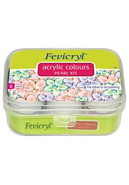 Fevicryl Acrylic Color- Pearl Kit - 60 ml