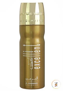 Al Haramain Excellent Women (Deodorant Body Spray) - 200ml for Men