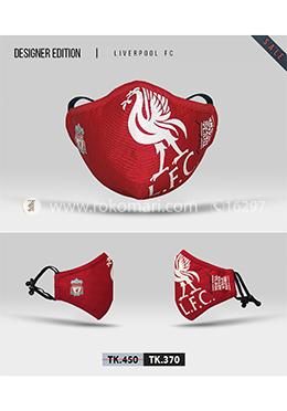 Fabrilife Premium 7 Layer Chelsea FC Designer Cotton Face Mask