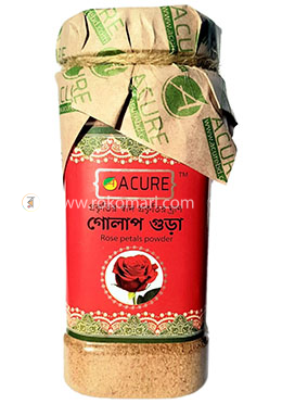 Acure Rose Powder (গোলাপ গুড়া) -80gm