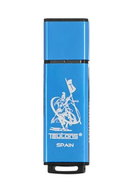 Teutons Metallic Creek Flash Drive USB 3.1 Gen-1 - 32 GB (Blue)