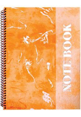 Foiled Notebook (Art Design-Orange Color)