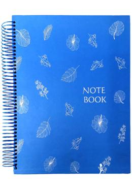 Hearts Panel Notebook (Blue Color)