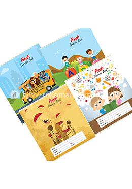 Fresh Kids English Khata -124 Page (Standard) - 4 Pcs