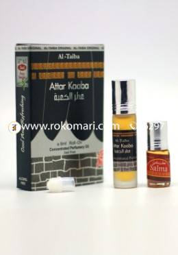 Al-Taiba Kaaba Attar-8ml With 3ml Gift Pack Free Inside