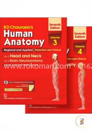 Human Anatomy Volume 3, 4: Regional and Applied Dissection and Clinical Head And Neck