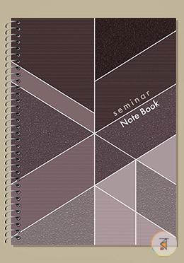 Seminar Notebook (Black - Chocolate Color)