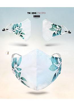 Fabrilife Premium 7 Layer Leaf Sider Womens Designer Edition Mask