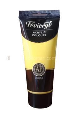 Fevicryl Acrylic Colours (LEMON YELLOW CADMIUM) - 200 ml