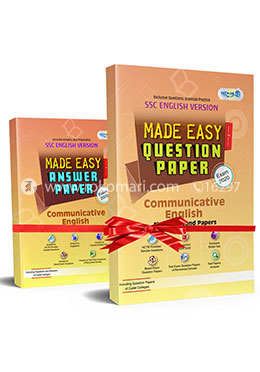 SSC English 1st and 2nd Paper (English Version) Made Easy Proshno Potro, All Education Boards, Exam-2020