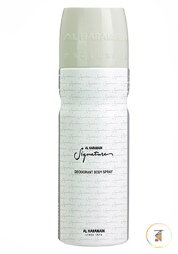 Al Haramain Signature Silver (Deodorant Body Spray)- 200ml for Man