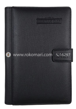 Heart's Executive DIARY - 2021 (Black Color - Joint Design)