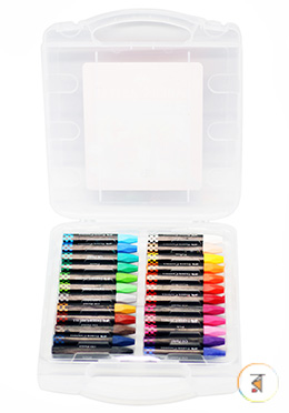 Faber Castell  Oil Pastels New - 24 Colors