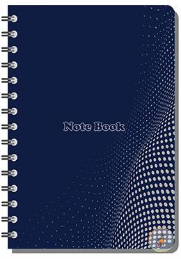 Hearts Crown Notebook - Dark Blue Color