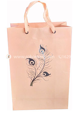 Hearts Smart Gift Bag Small - 01 Pcs (Pink Color-Any Design)