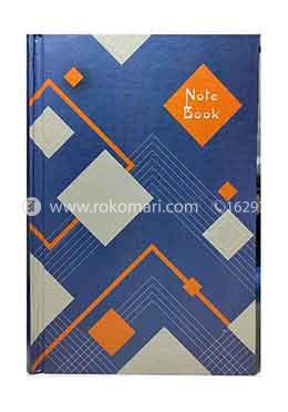 Floral executive Notebook (Blue Color)