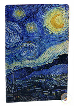 Starry Night Design Notebook - (SN201903104)